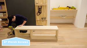 this diy mid century model media console is made from materials available at home depot