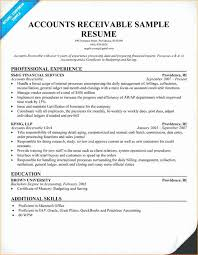 Accounts Receivable Resume Template Unique Account Payable Receivable Resume Sample Awesome Ar Resume Sample