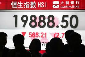 Hsi Stock Chart Market Woe Continues As Hang Seng Index Closes Below 20 000