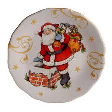 Купить <b>Тарелка закусочная Винтажный</b> Санта 23 см ...
