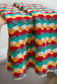 Crochet Throw Patterns Magnificent 48 Fabulous And Free Crochet Throw Patterns