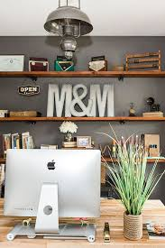 chic home office design home office. touring the country chic home of kristin mansky rustic officesrustic office design