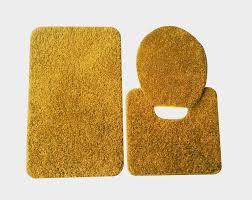 gold bathroom mat sets brightpulse