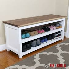 shoe furniture. diy entryway shoe storage bench and furniture