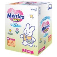 <b>Merries трусики XL</b> (12-22 кг) 76 шт. — <b>Подгузники</b> — купить по ...