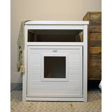 meow town mdf litter box. EcoFLEX Jumbo Covered Cat Litter Box, Cover/End Table - Antiqu\u2026 Meow Town Mdf Box