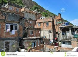 Brazilian Houses Houses Of Brazilian Favela In Rio De Janeiro Stock Images Image