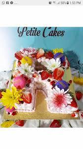 Trending Letter Cakes Letter R Cake The Enchanted Oven Facebook