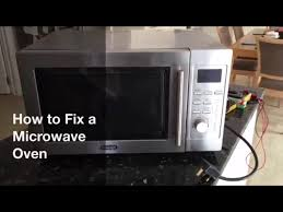 How To Fix Oven How To A Fix A Microwave Oven Youtube