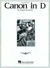 Download and print top quality canon in d and gigue (easy version) sheet music for piano solo by johann pachelbel. Canon In D Sheet Music Easy Piano Solo New Johann Pachelbel 000110041 73999312782 Ebay