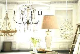 candle chandelier non electric hanging medium size of chandeliers pillar rectangular stunning home chande