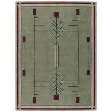 prairie stickley rug frank lloyd wright style area rugs