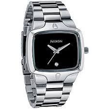 men watches nixon best watchess 2017 nixon men s player black dial stainless steel watch