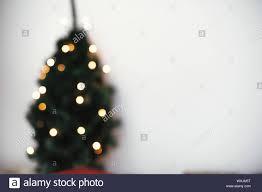 Paper Christmas Tree Lights Blurred Image Of Christmas Tree With Lights And Stylish