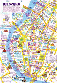 nancy chandler's map of khao san  old bangkok nd ed nima