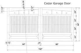 double garage door size garage door standard sizes what size is a standard garage door standard