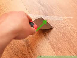 Image Titled Remove Adhesive From A Hardwood Floor Step 10
