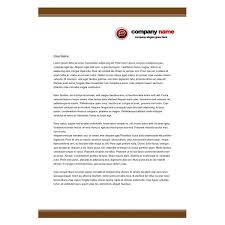 Official Letter Head Format Ten Best Free Business Letterhead Templates