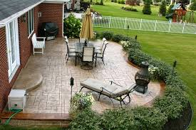 Backyard Concrete Designs Stunning SlideshowsPhoto Gallery Stamped Concrete Macomb County MI Biondo
