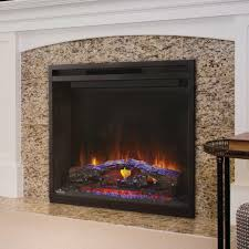 type built in fireplace included items firebox realogs thru view flame display mood maker remote control heater adjustable lighting touch