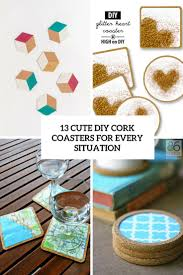 cute diy cork coasters for every situation cover