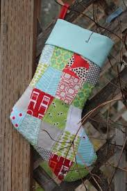 How to: Good tutorial with pictures on how to line a Christmas ... & quilted christmas stocking with cuff tutorial Adamdwight.com