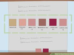 Ketone Strips Color Chart How To Read Ketosis Strips 9 Steps With Pictures Wikihow