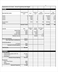 Event Budget Sample 10 Event Budget Examples Samples Examples