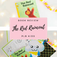 plb kids august book box the red raincoat