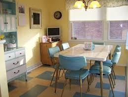 retro kitchen designs brown varnishes teak kitchen table round