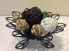 Decorative Sphere Balls Festive Holiday Mix Decorative Spheres Rattan Balls Pine Cones And 69
