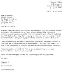 Elementary Teacher Cover Letter Examples - Cover Letter Now