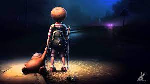 Alone Cartoon Wallpapers - Top Free ...
