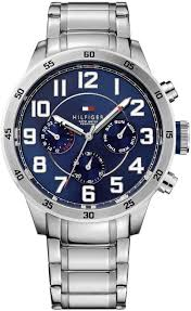 men s tommy hilfiger multi function stainless steel watch 1791053