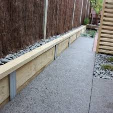 build your own retaining wall
