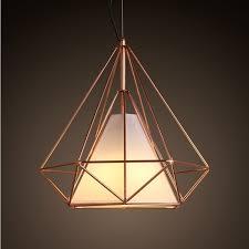 cage lighting pendants. copper diamond wire cage pendant light lighting pendants i