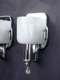 vintage style bathroom lighting. interesting style sconce vintage chrome bathroom sconces style item  code wal20130209001 sold year 1930 throughout lighting