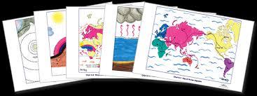 Montessori Geography Charts Montessori Elementary Impressionistic Charts Montessori