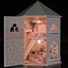 handmade dolls house furniture. Handmade Doll House Furniture Miniatura Diy Houses Miniature Wooden Unisex 3d Dollhouse Toys For Children Gift Craft 13816 Dolls