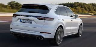 2018 porsche cayenne turbo. wonderful cayenne the new cayenne turbo rides on active shock absorbers and sixstage  heightadjustable suspension under the turbou0027s wider bodycolour wheel arches are  with 2018 porsche cayenne turbo s