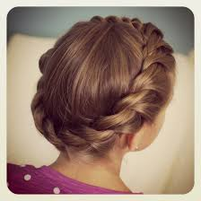 Twisted Hair Style crown rope twist braid updo hairstyles cute girls hairstyles 6717 by wearticles.com
