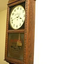 wooden pendulum wall clocks clock wood uk