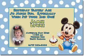 baby mickey mouse invitations birthday mickey mouse birthday invitations candy wrappers thank you cards