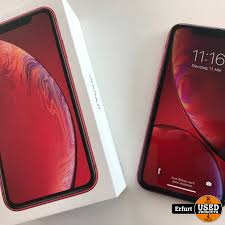 iPhone XR 128GB ROT - Used Products Erfurt