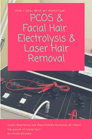 pcos hair electrolysis how i deal with it hirsutism my pcos kitchen