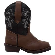 Case Ih Case Ih Western Light Up Cowboy Boot Faux Leather