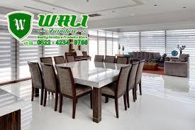exclusive dining room furniture. Meja Kursi Makan Minimalis Terbaru Warna Putih Exclusive Dining Room Furniture