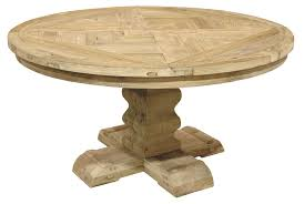 reclaimed wood kitchen table round