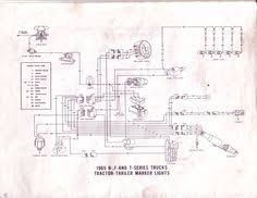 ford 1965 f100 f750 truck wiring diagram manual 65 ford 1965 ford b f and t series tractor trailer marker lights