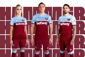 By selecting a currency you will see the equivalent prices in your preferred currency at the side of the sterling prices. West Ham Kit 2019 20 Home And Away Shirt Unveiled Radio Times